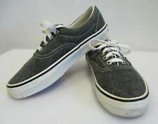 VANS Mens sz 5.5 Womens sz 7 Gray Denim ERA Skate Shoe Sneakers