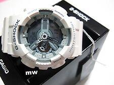 New Casio G-Shock GA-110C-7A White Colors Sports Men's Resin Watch GA110 GA110C