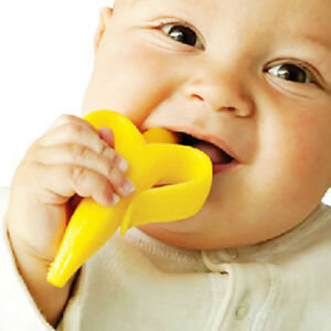 Baby Boy Girl cute Tooth Brush Banana Training Toothbrush  Health Care