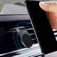 Magnetic Car Phone Holder L Shape Clip Air Vent Mount For Cell Phone GPS FLOVEME