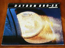 Datsun 280 ZX 2-seater, 2+2 & Turbo US brochure Prospekt, 1981