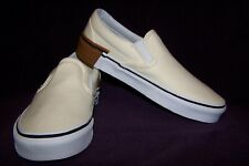 VANS Classic Slip-On (Gum Block) Men's Skate Shoes Classic White NIB! SWEET!