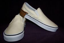122e69aff5c VANS Classic Slip-On (Gum Block) Men s Skate Shoes Classic White NIB!