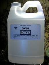 60/40 PG-VG PROPYLENE GLYCOL & VEGETABLE GLYCERIN DIY JUICE LIQUID 64 oz