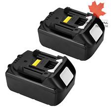 New 2x 18V 3.0Ah Lithium-Ion Battery Makita BL1830 BL1840 BL1850 BL1860 LXT-400