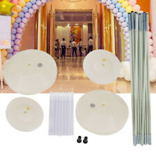 Large Balloon Arch Column Frame Stand Kit for Birthday Wedding Party Decoration
