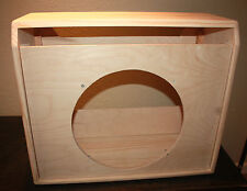 rawcabs SUPER REVERB 1x15 empty pine combo cabinet for D.I.Y. project