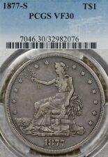 1877-S $1 PCGS VF30 Trade Dollar
