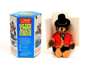 Vintage Steiff Golden Age of the Circus Band 0175/19 Ringmaster Teddy Baby MIB