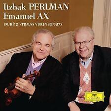 Itzhak Perlman / Ema - Faure & Strauss Violin Sonatas [New CD]
