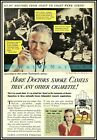 More Doctors Smoke Camels 1946 Vintage Poster Print Retro Cigarette Advert