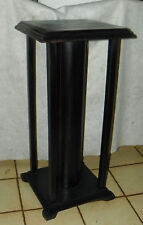 Pine Black Distressed Plant Stand  (PS137)