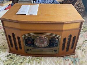 CD/Record/Radio/Cassette Player Combi System ~ Retro