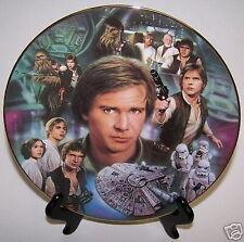 Star Wars Plate Han Solo Heroes & Villains Millennium