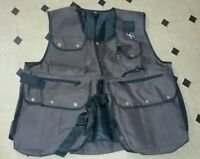 New Falconry and Hunting Waistcoat, Full Vest (Brown), (All Sizes) Fully Adjust