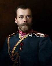 "CZAR NICHOLAS II OF RUSSIA Photo ""The Last Czar"""