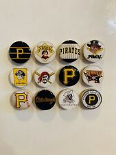Pittsburgh Pirates Magnets - Set of 12 - FREE SHIPPING