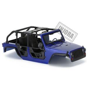 "313mm 12.3"" WB Tube Doors Hard Body Car Shell Kit for 1/10 RC Axial SCX10 90046"