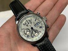 Bulova Accutron Gemini 26C04 Automatic Chronograph 42mm Watch
