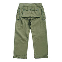 Red Wind Vintage P-44 Military Trousers Men's Workwear Pants Army Green Relaxed