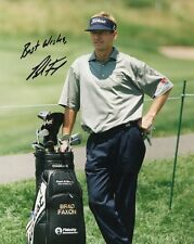 BRAD FAXON autographed 8x10 color photo         VERY POPULAR GOLFER