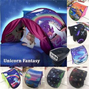 Dream Tents Kid House Space Adventure Wonderland Foldable Pop up Indoor Bed Gift