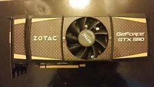 Zotac Nvidia GTX 590 3GB (1.5GB Per GPU) Graphics Card