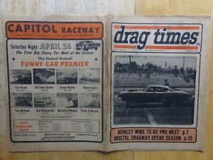 "1971 DRAG TIMES-Schartman,Ivo,Lew Arrington's ""BRUTUS"",""Jungle Jim"" Liberman,Sox"