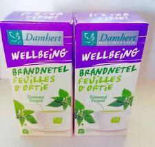 Damhert - 2 Boîtes Tisane Laxative  Minceur Drainante Feuilles d'Ortie