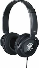 Yamaha Headphones black Hph-100B Free Shipping with Tracking# New from Japan