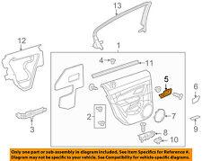 Chevrolet GM OEM 11-15 Cruze-Interior Door Handle Right 95175660