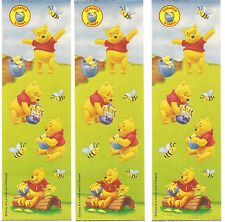 Sandylion Vintage Winnie The POOH Scratch'n Sniff HONEY Scent Stickers 3 Strips