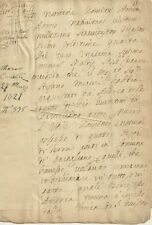 Partigiano Lucca - Chiesa di San Giusto Antico Manoscritto Seicentesco 1621