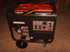 Genfor GF8000CE-W 7,000-watt Gasoline Powered Portable Generator / Electric Star