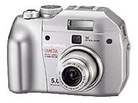 Olympus CAMEDIA C-5000 Zoom 5.0MP Digital Camera - Silver