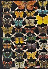 # GLANZBILDER # EF 7336, viele kleine Schmetterlinge, süß ! Bogen von 2014