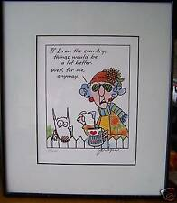 Maxine Ltd Ed. Signed & Numbered by John Wagner, Artist 14x12 Ed/250. Under gls