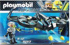 Playmobil 9253 Mega drone Top Agents uso peligro malos secreto mercancía nueva