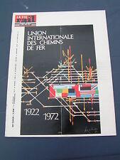 vie du rail 1972 1345 TEE RHEINGOLD CATALAN LE BURG BRIVE QUéROY PRANZAC THIVIER