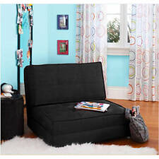 Flip Chair Lounger Sleeper Convertible Bed Couch Dining Room Dorm Multiple Color