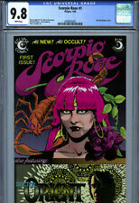 Scorpio Rose #1 (1983) Eclipse CGC 9.8 White Pages Marshall Rogers Cover