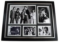 Charlie Watts Signed Autograph 16x12 framed photo display Music Rolling Stones