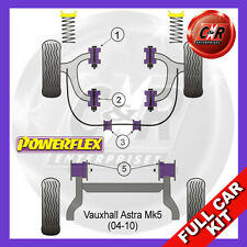 Opel Astra MK5 - H (04-10) 1 Piece Frt ARB Bush Non 2.0L Cars Powerflex Full Kit
