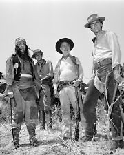 """""""RAWHIDE"""" PARTIAL CAST FROM THE CBS TV SERIES CLINT EASTWOOD  8X10 PHOTO (CC923)"""