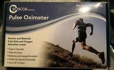 Roscoe Medical Finger Pulse Oximeter O2 Monitor Finger Pulse Amp Oxygen Monitor