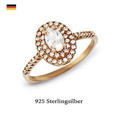 Ringe mit Edelsteinen aus Sterlingsilber für den Jahrestag echten runde