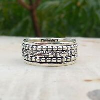 925 Sterling Silver Spinner Ring  Meditation Ring Handmade Ring Jewelry A213