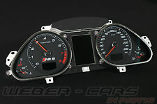 Audi rs6 4f velocímetro display combi instrumento cluster fis bc AMF a6 s6 4f0920932n MX