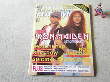 METAL HAMMER Nr. 8 AUGUST 1992 inkl POSTER EXTREME BLACK SABBATH FAITH NO MORE