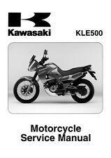 Kawasaki service manual 2005 KLE500